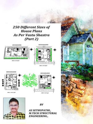 cover image of 250 Different Sizes of House Plans As Per Vastu Shastra (Part-2)