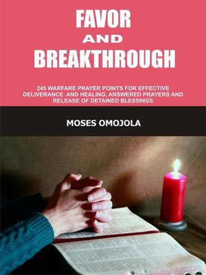 cover image of Favor and Breakthrough