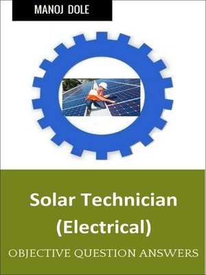 cover image of Solar Technician Electrical