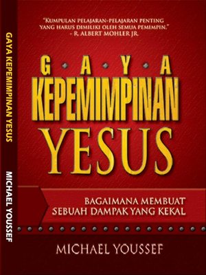 cover image of Gaya Kepemimpinan Yesus