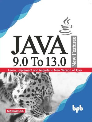 cover image of JAVA 9.0 to 13.0 New Features
