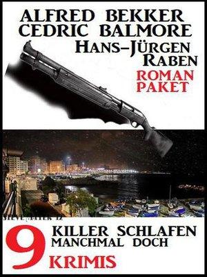 cover image of Killer schlafen manchmal doch