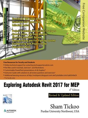 cover image of Exploring Autodesk Revit 2017 for MEP