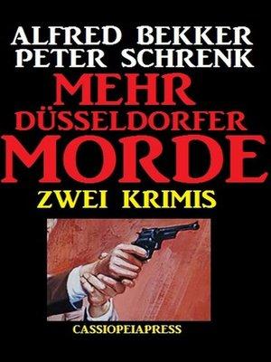 cover image of Mehr Düsseldorfer Morde