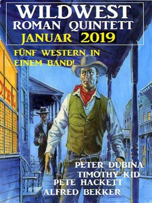 cover image of Wildwest-Roman Quintett Januar 2019