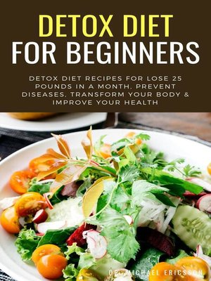 cover image of Detox Diet For Beginners