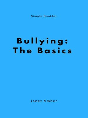 cover image of Bullying