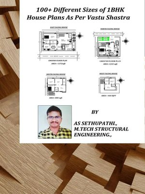 cover image of 100+ Different Sizes of 1 BHK House Plans As Per Vastu Shastra
