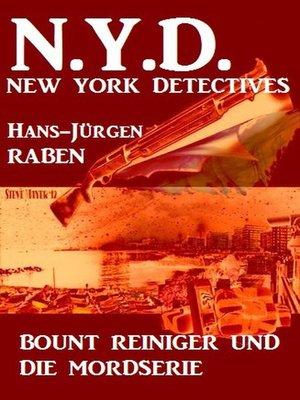 cover image of Bount Reiniger und die Mordserie