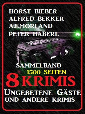 cover image of Sammelband 8 Krimis