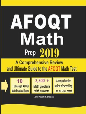 cover image of AFOQT Math Prep 2019