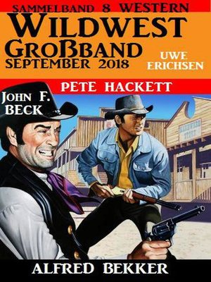 cover image of Wildwest Großband September 2018