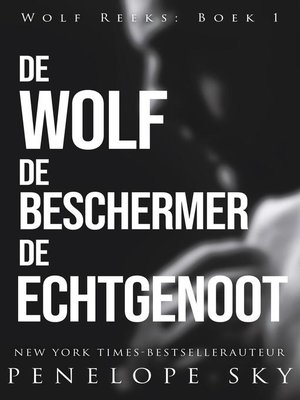 cover image of De wolf De beschermer De echtgenoot