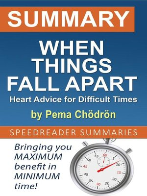 cover image of Summary of When Things Fall Apart