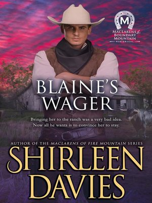 cover image of Blaine's Wager
