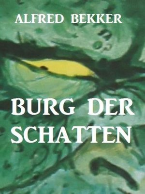 cover image of Burg der Schatten