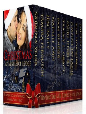 cover image of Christmas at Mistletoe Lodge