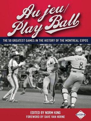 cover image of Au jeu/Play Ball