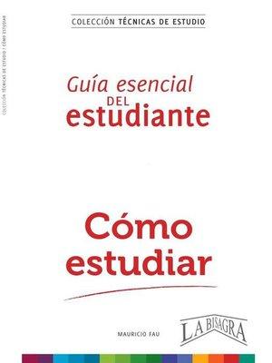 cover image of Cómo Estudiar