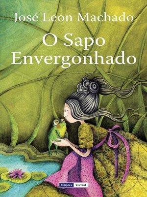 cover image of O Sapo Envergonhado