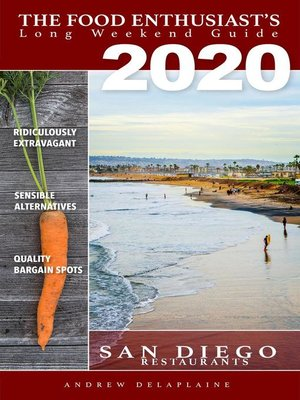 cover image of 2020 San Diego Restaurants