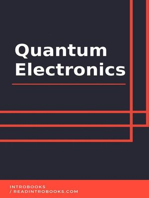 cover image of Quantum Electronics