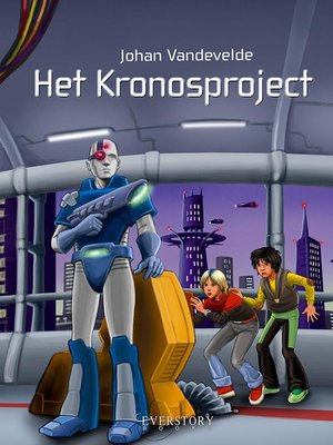 cover image of Het Kronosproject