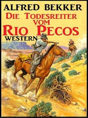 cover image of Alfred Bekker Western