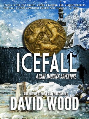 cover image of Icefall- a Dane Maddock Adventure