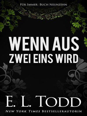 cover image of Wenn aus Zwei Eins wird