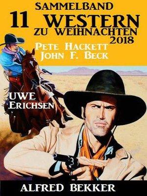 cover image of Sammelband 11 Western zu Weihnachten 2018