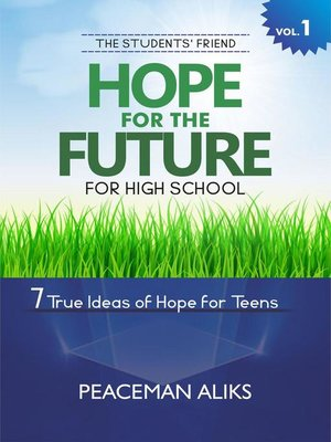cover image of Hope for the Future for High School Students