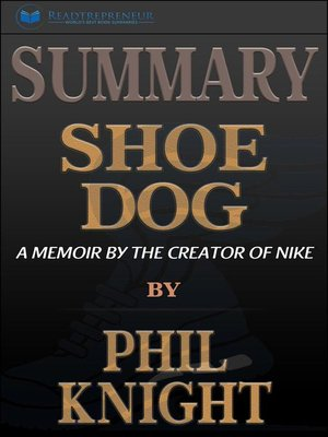 cover image of Summary of Shoe Dog