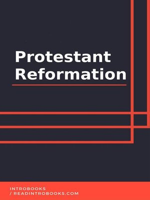 cover image of Protestant Reformation