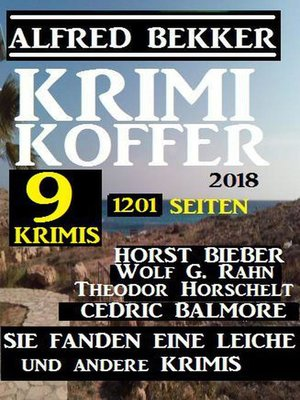 cover image of Krimi Koffer