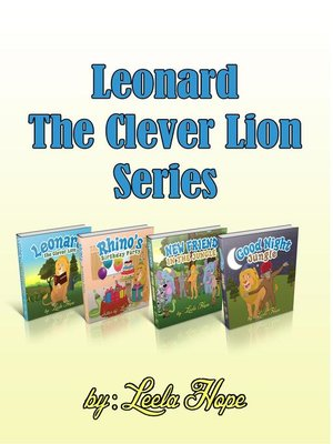 cover image of Leonard the Clever Lion Series