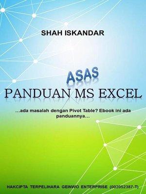 cover image of Panduan Asas MS Excel