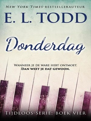 cover image of Donderdag