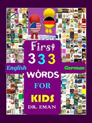 cover image of First 333 English German Words for Kids