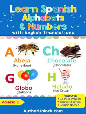 cover image of Learn Spanish Alphabets & Numbers