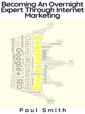 cover image of Becoming an Overnight Expert Through Internet Marketing