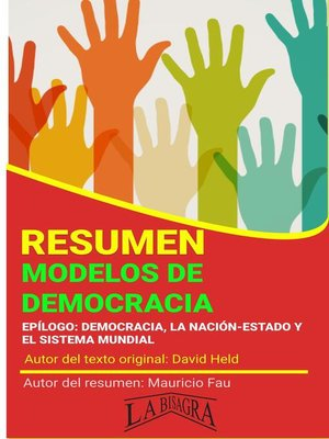 cover image of Resumen de Modelos de Democracia de David Held