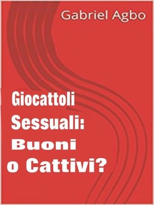 cover image of Giocattoli sessuali