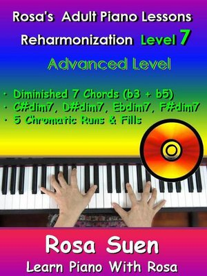 Rosas Adult Piano Lessons Reharmonization Level 7 Advanced Level