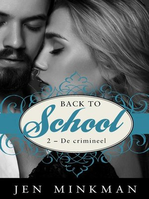 cover image of Back to school (2--De crimineel)