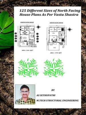 cover image of 125 Different Sizes of North Facing House Plans As Per Vastu Shastra