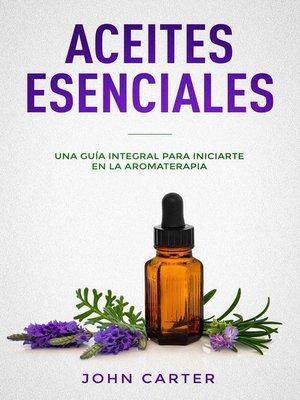 cover image of Aceites Esenciales