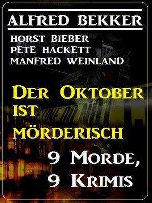 cover image of Der Oktober ist mörderisch