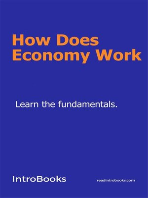 cover image of How does economy work
