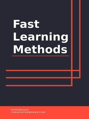 cover image of Fast learning methods